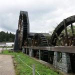 荘川で有名な蕎麦やさんの蕎麦挽き水車小屋