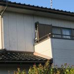 自宅からのアンテナ中継器とカメラ