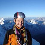 Im August 2010 auf der Jungfrau