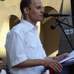 Rede an einer Kundgebung vor dem Berner Rathaus am 26. April 2007