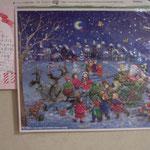 おちゃっぴいさんからのクリスマスカード