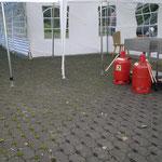 Die Gasflaschen für ein gelungenes Abschlussfeuerwerk