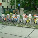 Für Fahrradfahren blieb keine Zeit