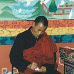 Mönch aus Bhutan