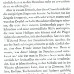 "Aus Albert Camus, ""Die Pest"""
