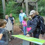 Besuch im Erlebniswald im August 2016...mit einem Scout durch den Wald