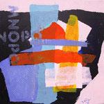 Ricordando 2 (acrilico) 30x30 - 2014