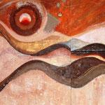 Untitled 1 e 2 (tecnica mista) 130 x 80 - 2009 COLLEZIONE PRIVATA