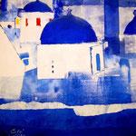 Ελλάδα (acrilico) 30x30 - 2014