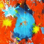 Shot (tecnica mista) 120 x 40 - 2013