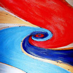 Murrina (acrilico) 70 x 100 - 2012