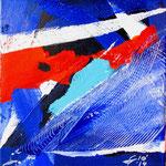 Vele al vento 1 (acrilico) 20x20 - 2014