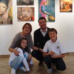 Elia ed Arianna con gli zii