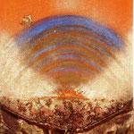 Autunno (tecnica mista su cartoncino) 37 x 80 - 2009
