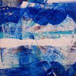 Nell'anima e nel cuore 1 (acrilico) 30 x 30 - 2014