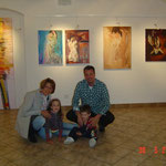 Giada e Andrea con gli zii