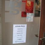 Benvenuti alla Galleria Pgi di Poschiavo, che ci ha ospitato dal 29 maggio al 13 giugno 2010