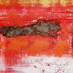 fuoco (tecnica mista) 30 x 60 - 2009 COLLEZIONE PRIVATA