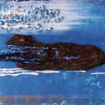 acqua (tecnica mista) 30 x 60 - 2009 COLLEZIONE PRIVATA