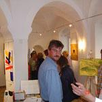 Vernissage 29 maggio 2010, Bruno e Jean Claude