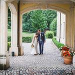Annika und Marco im Schloss Proschwitz