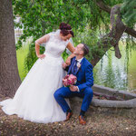 Hochzeitsshooting mit Rebecca und Matthias in Lampertswalde