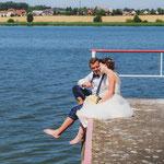 Katrin und Pierre am Horstsee in Wermsdorf