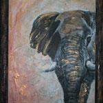 goldener Elefant