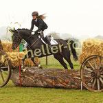 Sandra Tillmann-Heinemann auf Royal Lady CT 1
