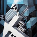 """""""Kreuz"""", Acryl auf Leinwand, 50x70cm"""