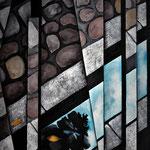 """""""Konviktstrasse"""", Acryl auf Leinwand, 50x70cm"""