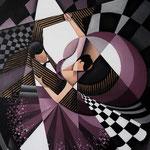 """""""Tanz"""", Acryl auf Leinwand, 50x70cm"""