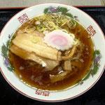 常磐道 中郷SAで食べた喜多方ラーメン(結構美味い!)