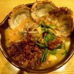 高知・國虎の炙りチャーシュー麺
