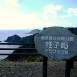 須崎市の横浪スカイライン 帷子崎を望む展望所より