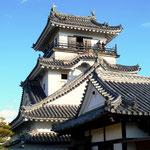 高知市の中心にある名城の高知城