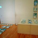 かるぽーと第3展示室でのセッティング風景