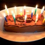 市販のケーキでささやかなお祝い