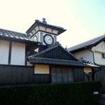 安芸市のシンボル「野良時計」