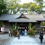 須崎市西隣の町、中土佐町の久礼八幡宮 この神社で2012年の初詣。