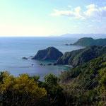 帷子崎 高知県を代表する美しい海です。