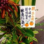 林家たい平さんの贈り花