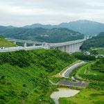 浜松SAから見る「新東名道」