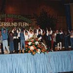 Jugendchor bei 125 Jahre Sängerbund