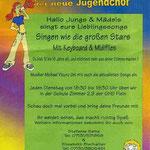 JUgendchor-Plakat