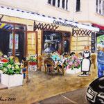 37. Café Maitre Münch in der Giesebrechtstraße - verkauft -