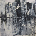 o.T.- WVZ 2014-11 - Acryl gespachtelt auf LW/KR, 20 x 20 cm - in Privatsammlung
