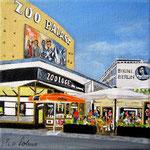 128 - Zoo-Palast, 15 x 15 cm - verkauft -