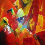 fragile, 40 x 60 cm, Acryl auf LW/KR
