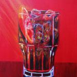 Campari - Acryl auf LW/KR, 24 x 30 cm
